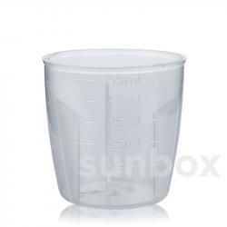 60ml Graduated measuring cupfor aluminum cap